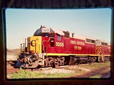 HJ10 ORIGINAL TRAIN SLIDE ENGINE COSHOCTON OHIO OH OHCR GP40 3253 OHIO CENTRAL