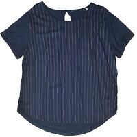 Tunika Damenbluse Bluse  Blusenshirt U-Ausschnitt Gr. 44  Viskose
