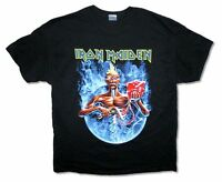 Iron Maiden Smoke Circle Tour 2012 Mens Black Ed Mummy T Shirt New Official