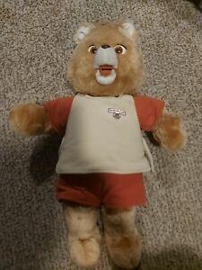 Vintage 1984/1985 Teddy Ruxpin Talking Bear IN GREAT SHAPE