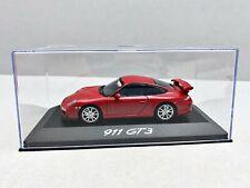 1:43... Minichamps -- Porsche 911 gt3 en plexibox/4 B 885