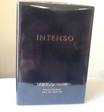 D&G DOLCE GABBANA POUR HOMME INTENSO MEN 4.2 OZ EAU DE PARFUM SPRAY NIB SEALED