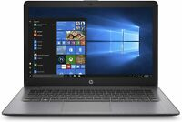 "HP Stream 14"" Laptop, AMD Dual-Core A4-9120E (1.5 GHZ), 4 GB SDRAM, 64 GB eMMc"