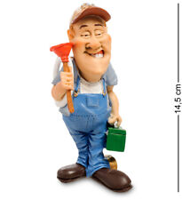 "The Comical World of Warren Stratford Figurine RV-950 ""Plumber"" 14,5 cm"