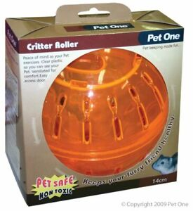 Pet One Pet Running Ball Plastic Grounder Jogging Hamster Pet Exercise Toy