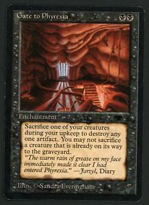 ***1x Gate to Phyrexia*** MTG Antiquities -Kid Icarus-