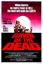 Amanecer De Los Muertos-Quad Película Póster George un gigante de impresión mate brillante Romero