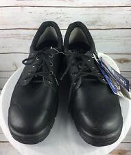Steel BLue Work Safety Boot/Shoe Mens 13 Black Comfort Technology Australia NEW