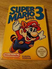 SUPER MARIO BROS. 3 für Nintendo NES komplett mit OVP