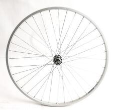 "700c Weinmann 520 Hybrid / Road Bike Rear Wheel 3/8"" Aluminum NEW Blem"