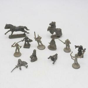 Vintage Ral Partha Grenadier Pewter Figurine Lot