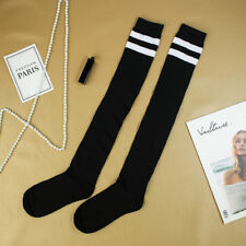 High Elasticity Girl Cotton Knee High Socks Uniform Shell And Pearl Women Tube Socks