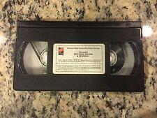 THOMAS THE TANK ENGINE & FRIENDS THOMAS GETS BUMPED ORIGINAL BRITT VHS ONLY 1991