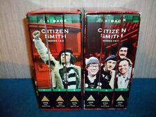 CITIZEN SMITH - SERIES 1, 2, 3, 4 (2 x 3 VIDEO SET) - VHS PAL (UK) VIDEOS - RARE