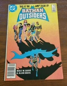 Batman and The Outsiders #32 - April 1986