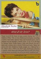 2013 Topps 75th Anniversary #5 Who Z At Star? > Elizabeth Taylor > 1953