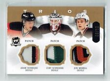 13-14 UD The Cup Trios  Adam Henrique--Cory Schneider--Jon Merrill  /10  Patches