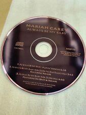 Mariah Carey Always Be My Baby's Sample CD Australia 🇦🇺 Single