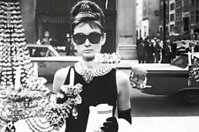 AUDREY HEPBURN - BREAKFAST AT TIFFANY'S POSTER - 24x36 SHOPPING 48145
