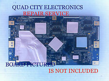 REPAIR SERVICE For Sony T-Con board 55.40T02.C06 40T02-C05 T400HW01 V3