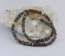 Labradorit kette,edelsteinkette,labradoritkette,blau schmmier,Collier,Schmuck