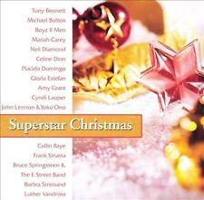 Superstar Christmas Music (New CD) Lennon Springsteen Lauper Estefan Sinatra +++