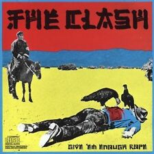 1 CENT CD Give 'Em Enough Rope - The Clash JAPAN-MADE DISC/SMOOTH JEWEL CASE