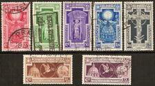1933 Regno Anno Santo n. 345/349+A54/55 Usati