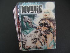 1996 ANIMAL MYSTIC COMPLETE COMIC TRADING CARD BASE SET