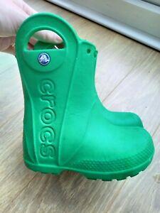 Crocs wellies Toddler size 7