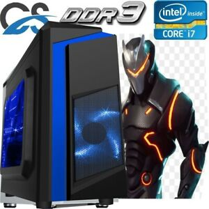 Ultra Schneller Gaming Computer PC Intel Core i7 16GB RAM 1TB Windows 10 2GB GTX 1050