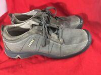 Salomon Men Shoe Contagrip Sz 10.5 Gray Suede Low Shoes Casual Shopping For Was