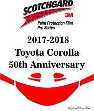 3M Scotchgard Paint Protection Film Pro Series 2017 2018 Toyota Corolla 50th ASE
