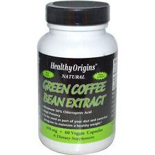 Green Coffee Bean Extract, 400mg x 60 Veg Capsules - Healthy Origins