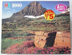 Glacier National Park, MT - 1000pc. Jigsaw Puzzle - VTG Big Ben - 26x20in.