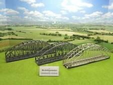 Märklin H0 Konvolut Bogenbrücke Metall + 2x aus Kunststoff  (EG) B1182