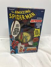 VINTAGE SECRET WARS AMAZING SPIDERMAN ACTION GUMBALL MACHINE COIN BANK