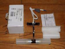 lampe miroir chrome verre givré 2x 25W G9 - BATH Fournitures REF 6531