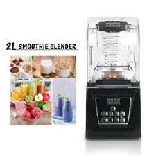 ITOP Electric Commercial Smoothie Blender Food Mixer With Soundproof Cover 2L
