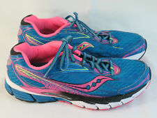 Saucony PowerGrid Ride 8 Running Shoes Women's Size 10.5 US Excellent Plus Blue