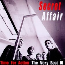 Secret Affair Time For Action-Very Best Of CD NEW Mod My World/Glory Boys+
