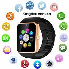 Bluetooth 4.0 Smart Watch SIM Card Phone Sports Camera Wrist for Boys Girls Kids