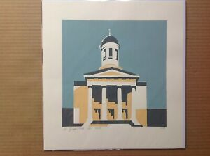 St Georges Hall, Bristol original limited edition 3 colour screenprint - 1 of 11
