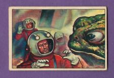 1951 Bowman JETS, ROCKETS, SPACEMEN #21 Hypnotized By Steam Frogs *Excellent*
