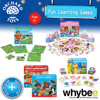 Orchard Toys Age 5yrs+ Fun Learning Games Puzzles Educational for Kids Children