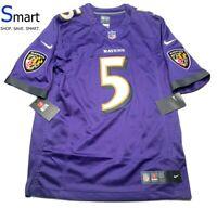 JOE FLACCO Baltimore Ravens Nike Sewn Jersey RARE LIMITED EDITION ...