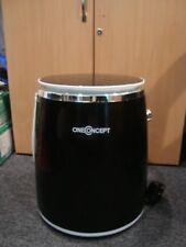 oneConcept Ecowash-Pico 3.5kg Portable Washing Machine - Black