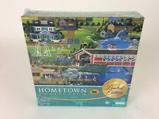 *NEW Hometown Collection ~ SUNDAY AT THE COVERED BRIDGE 1000 Piece Puzzle SEALED