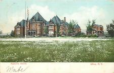 UTICA NY MASONIC HOME 1905 POSTCARD