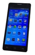 """5"""" Zoll Einsteiger Android Smartphone / Handy schwarz Dual Sim ohne Vertrag NEU"""